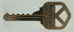 Common Key Used For Lock Bumping